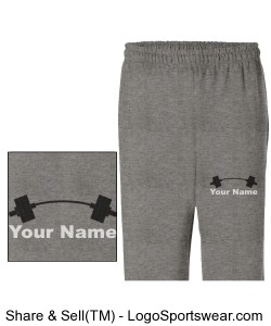 Men's Sweat Pant Design Zoom